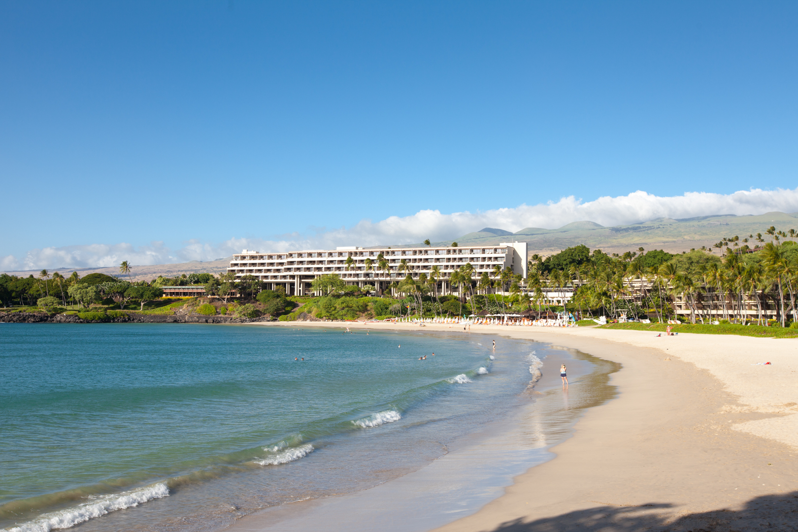 Kauna'oa Beach and Mauna Kea Beach Hotel