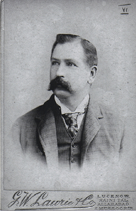 William Claxton Peppé . Picture courtesy of the Peppé family