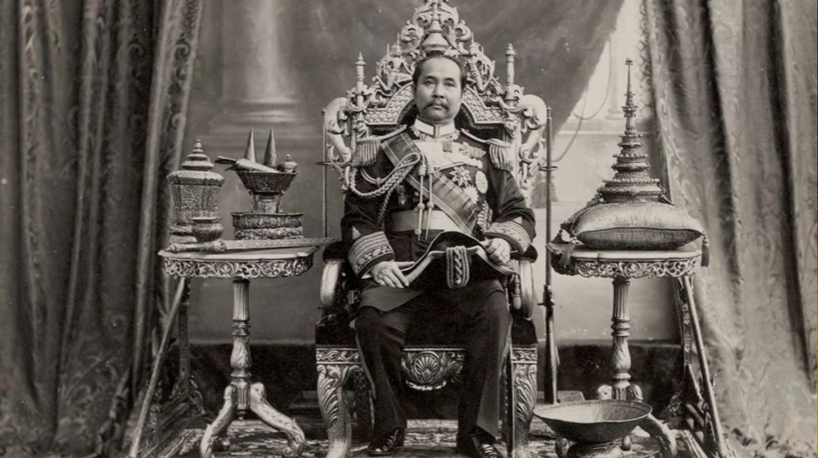 King Rama V of siam