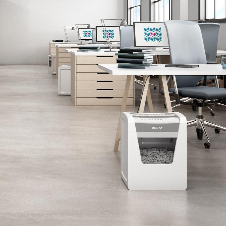 Leitz IQ Shredder Produkteinführung Europa