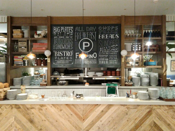 One of the areas I worked on for Providore