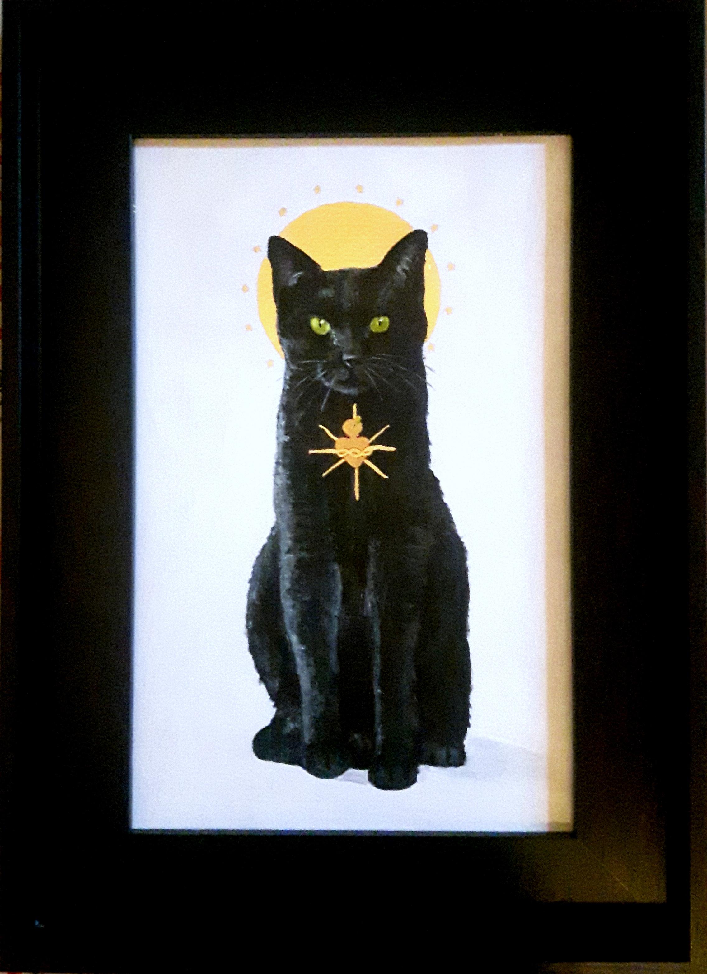 Sacred Cat -Black
