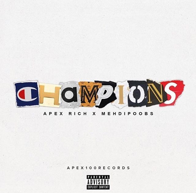 "Mood for forever 💥 ""Champions""🏆🏆🏆 @apexrich  @waverunner___  @apex100records  #masteredbykeylow #thegalleryroom"