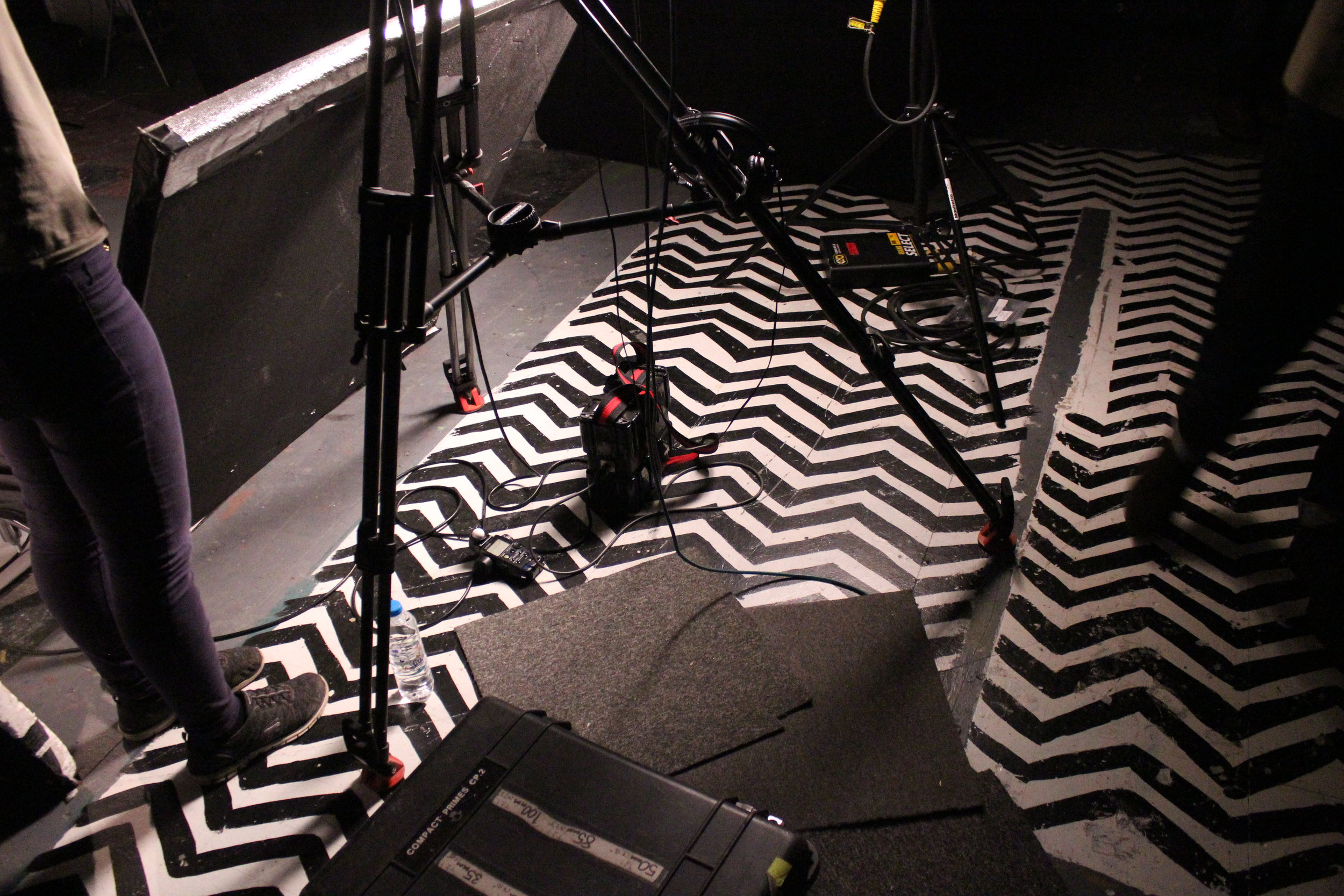 The CFS studio floor