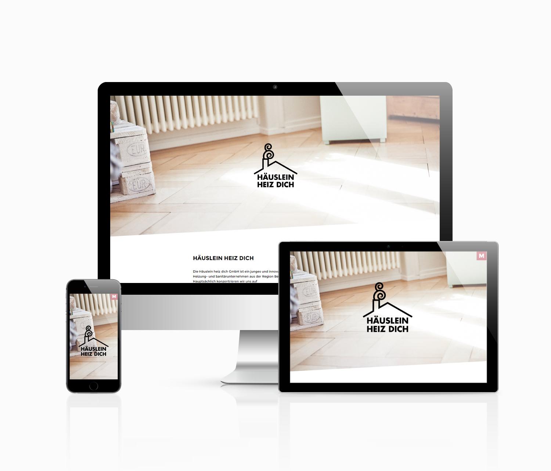 Häuslein heiz dich - Graphic Design | Webdesign