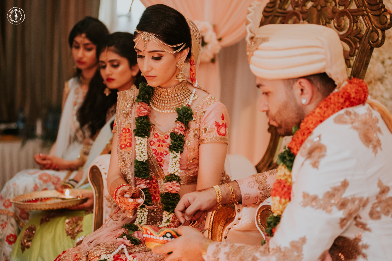TRADITIONAL WEDDING DAY - Mehndi night, Kahtu, Sangeet night & Shantak (Puja Ceremony) Hereafter we are in the wedding day of this beautiful couple