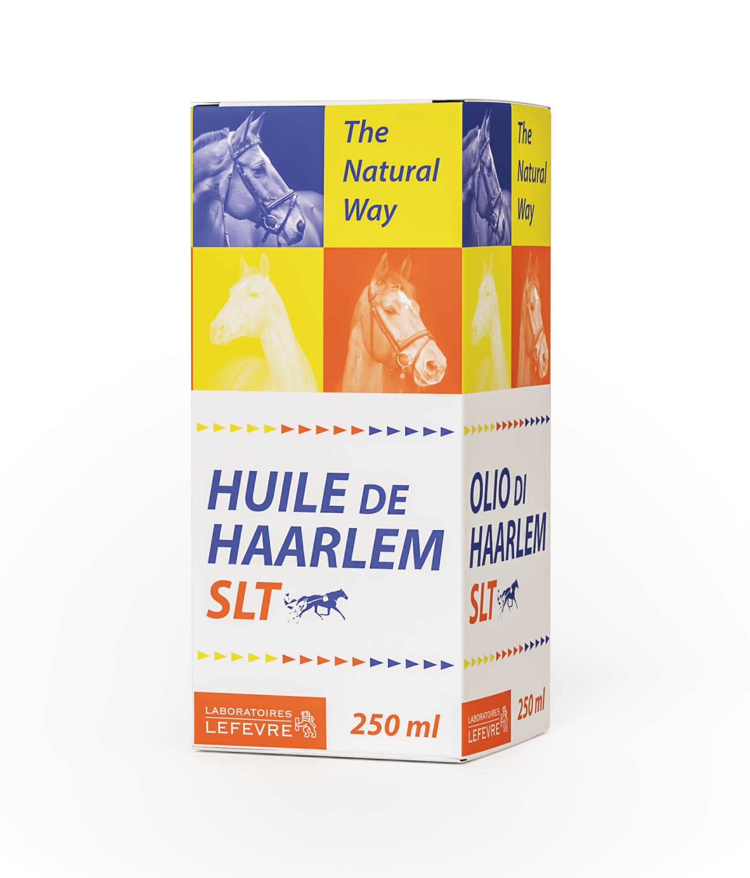 Huile de Haarlem SLT - Flacon 250 ml pour chevaux