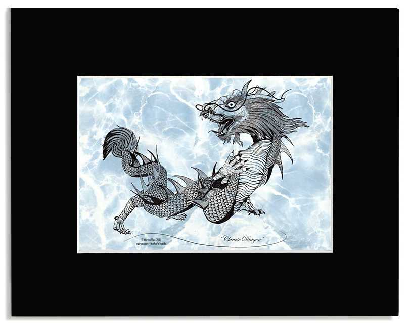 Chinese Dragon -Classic Chinese Dragon Art Print