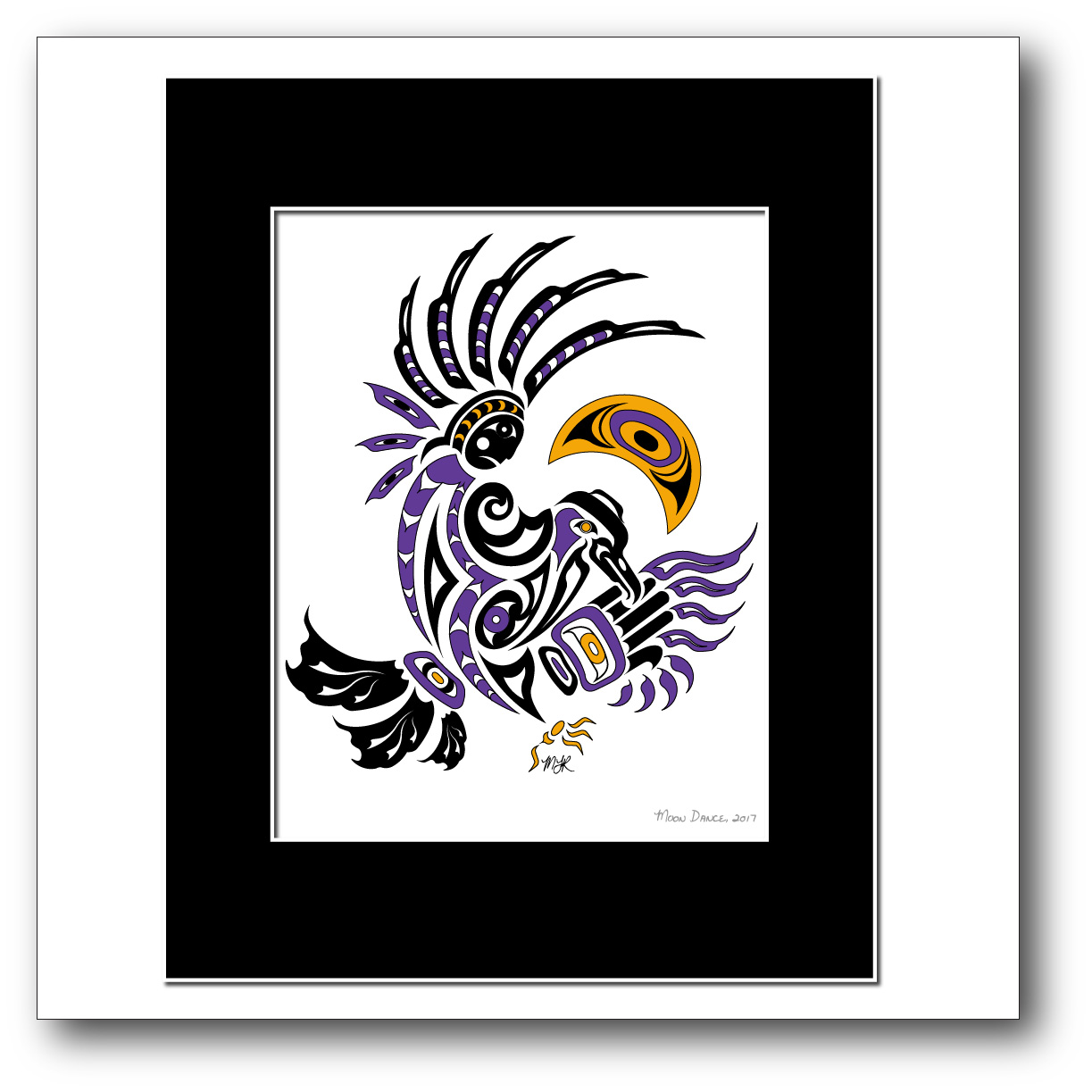 """""""Moon Dance"""" Available in Purple/Gold only."""