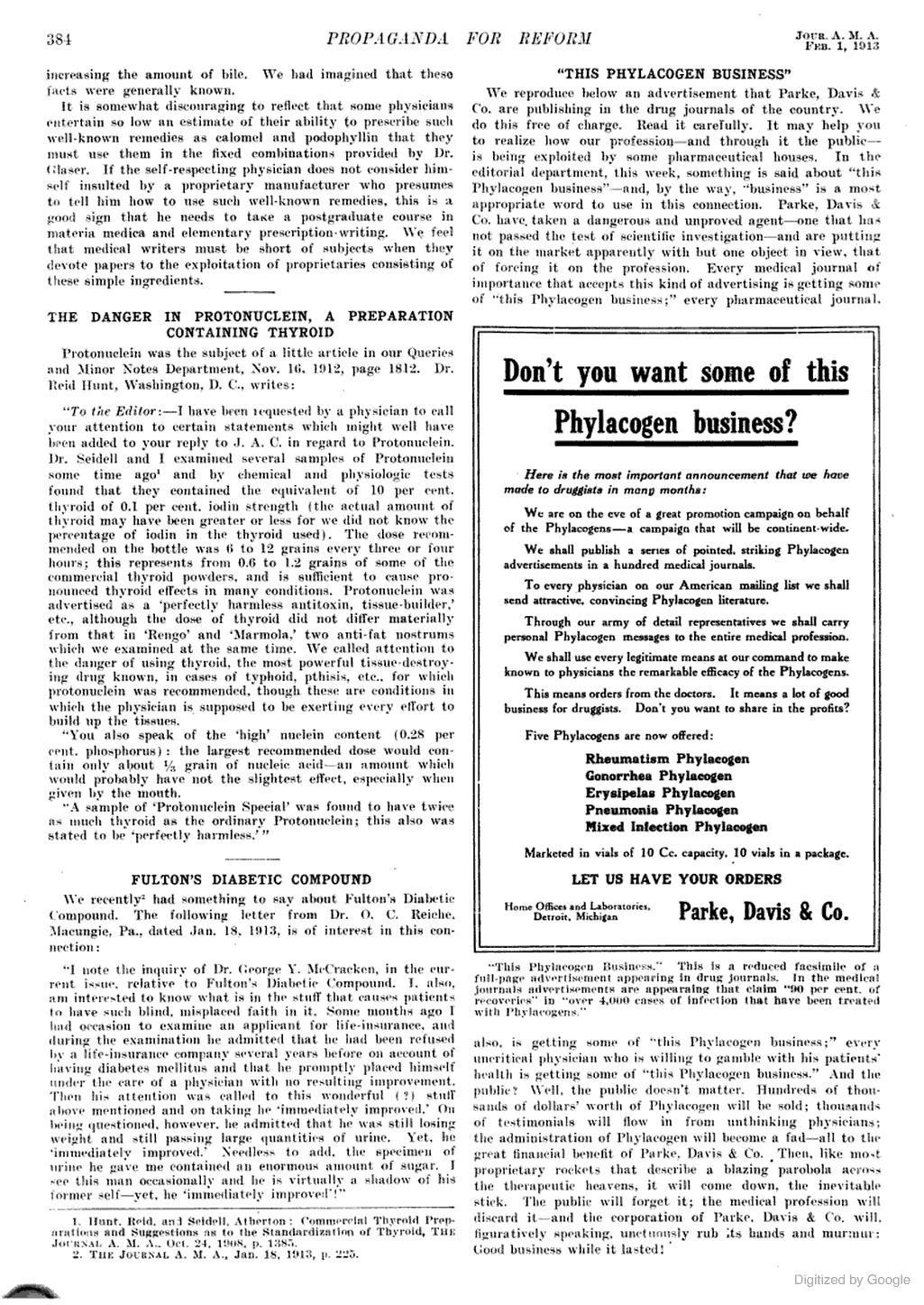 Pfizer - Phalacogn Scam 1913.jpg