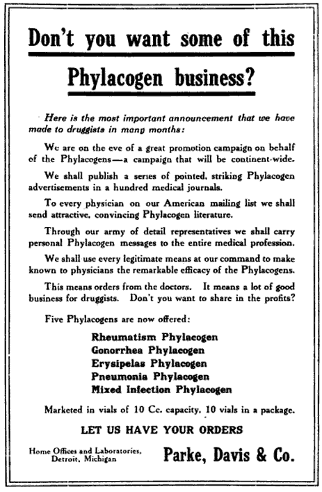 The not so honorable Healthcare Industry running a scam. Today, same scam, different century.