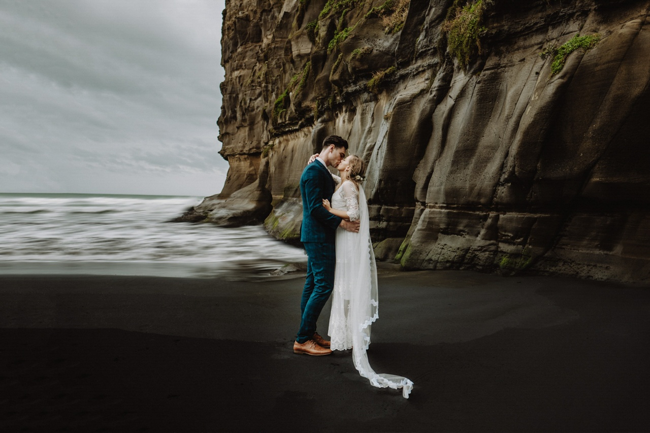 Photographed in Maori Bay, Auckland, New Zealand by Asher King