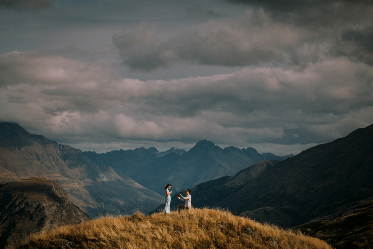 Photographed in Queenstown, New Zealand by Ben and Sirjana Singh of Tinted Photography