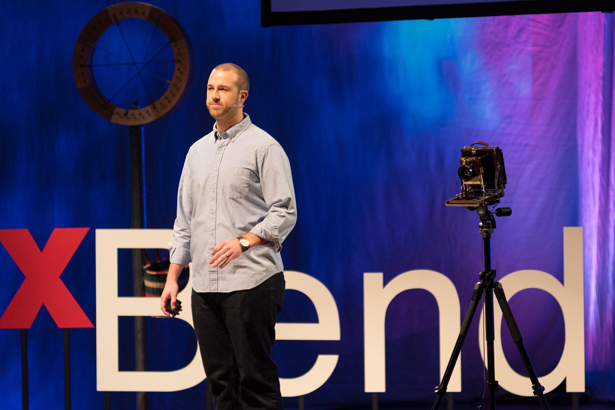Eric Pickersgill Speaking at TEDxBend, 2016