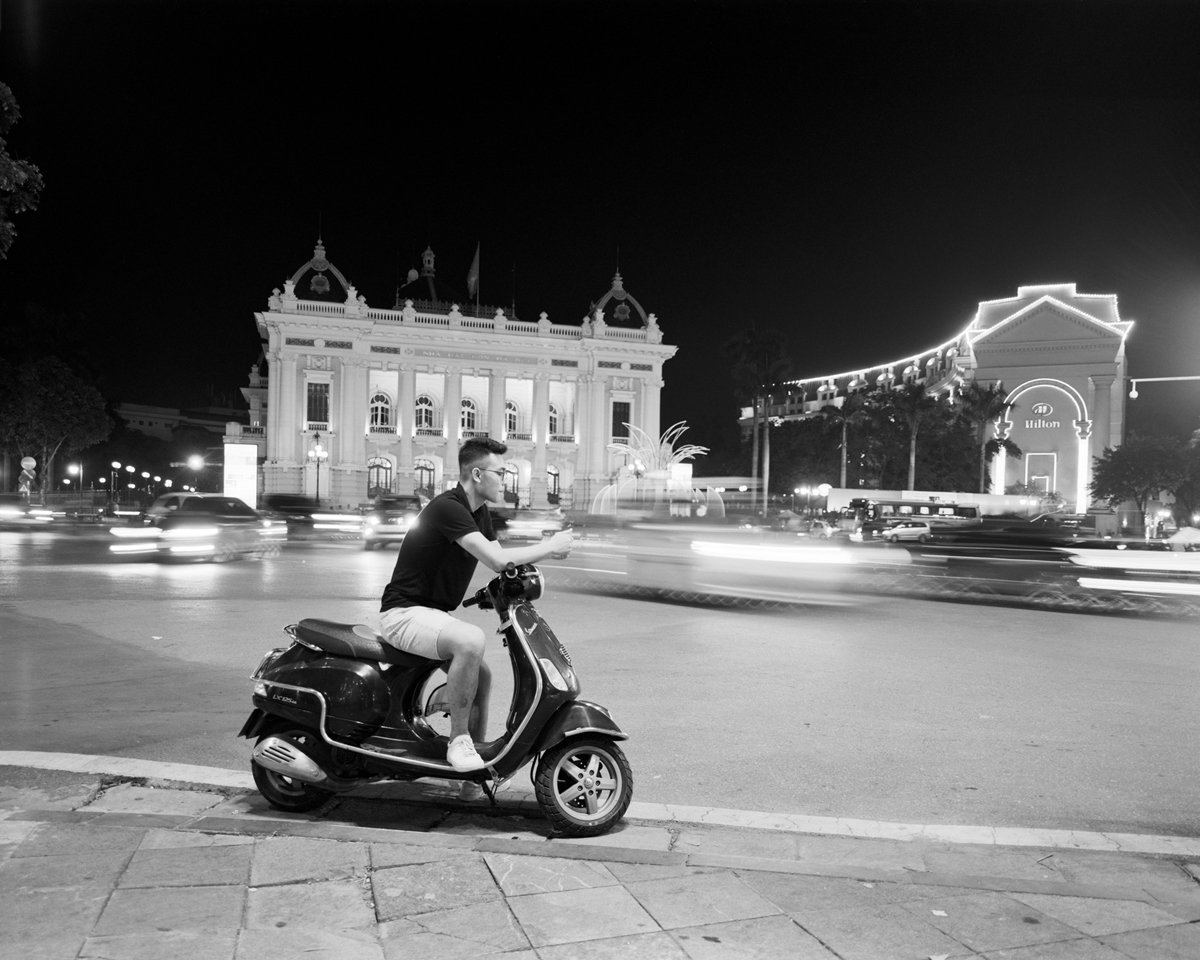 Scooter Texting, 2018