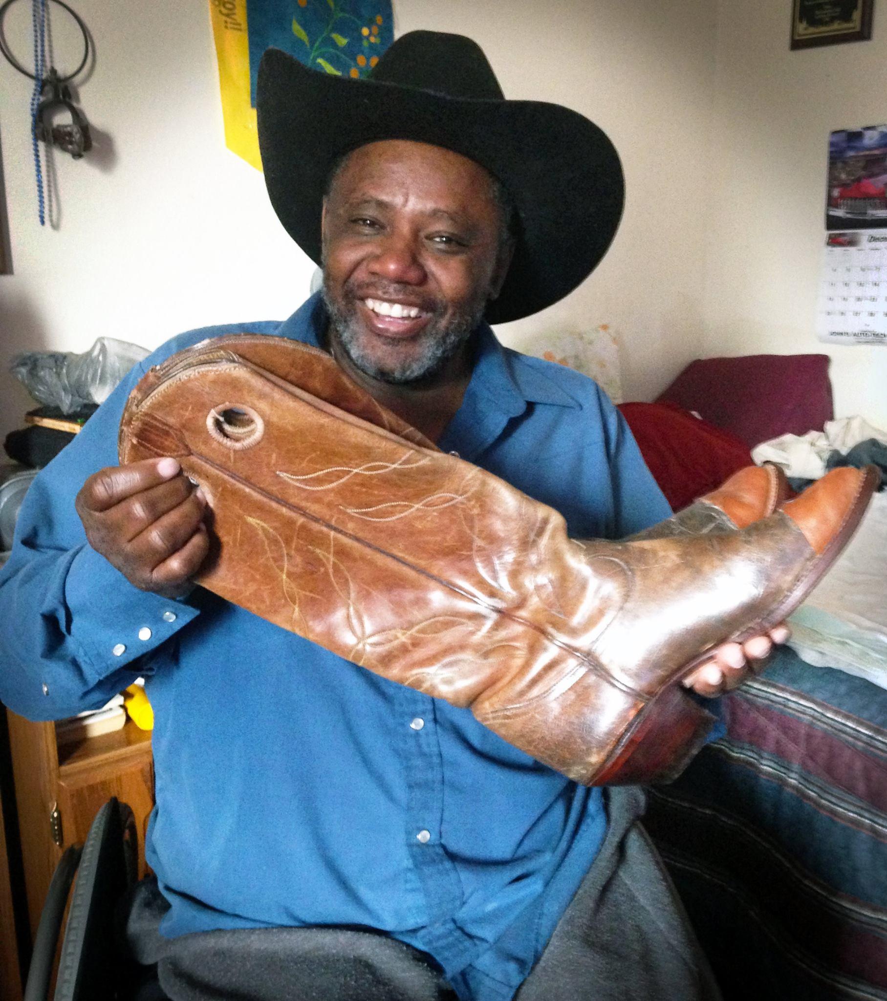 Tony's Boots