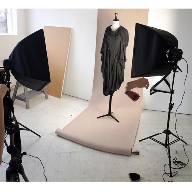 DRESS ltd BLACK DRESS MUSEUM Black Wash Collection, Deconstructed Princess Dress