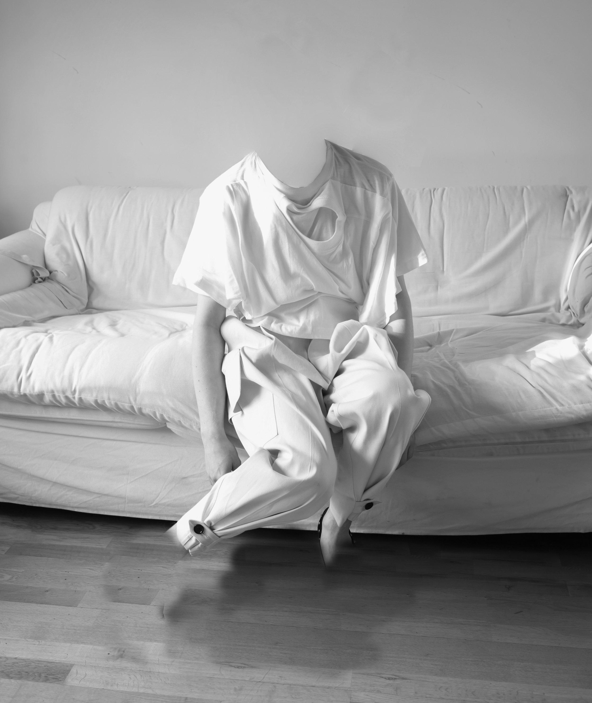 Interdependent T shirt - White DRESSLTD