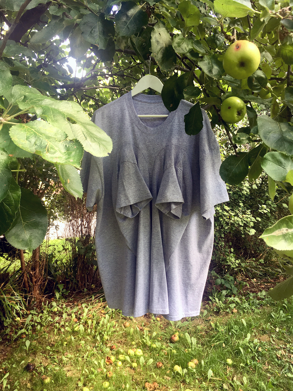 DRESS SUPER BASIC Super Size Double Breasted Fertility T #dressltd
