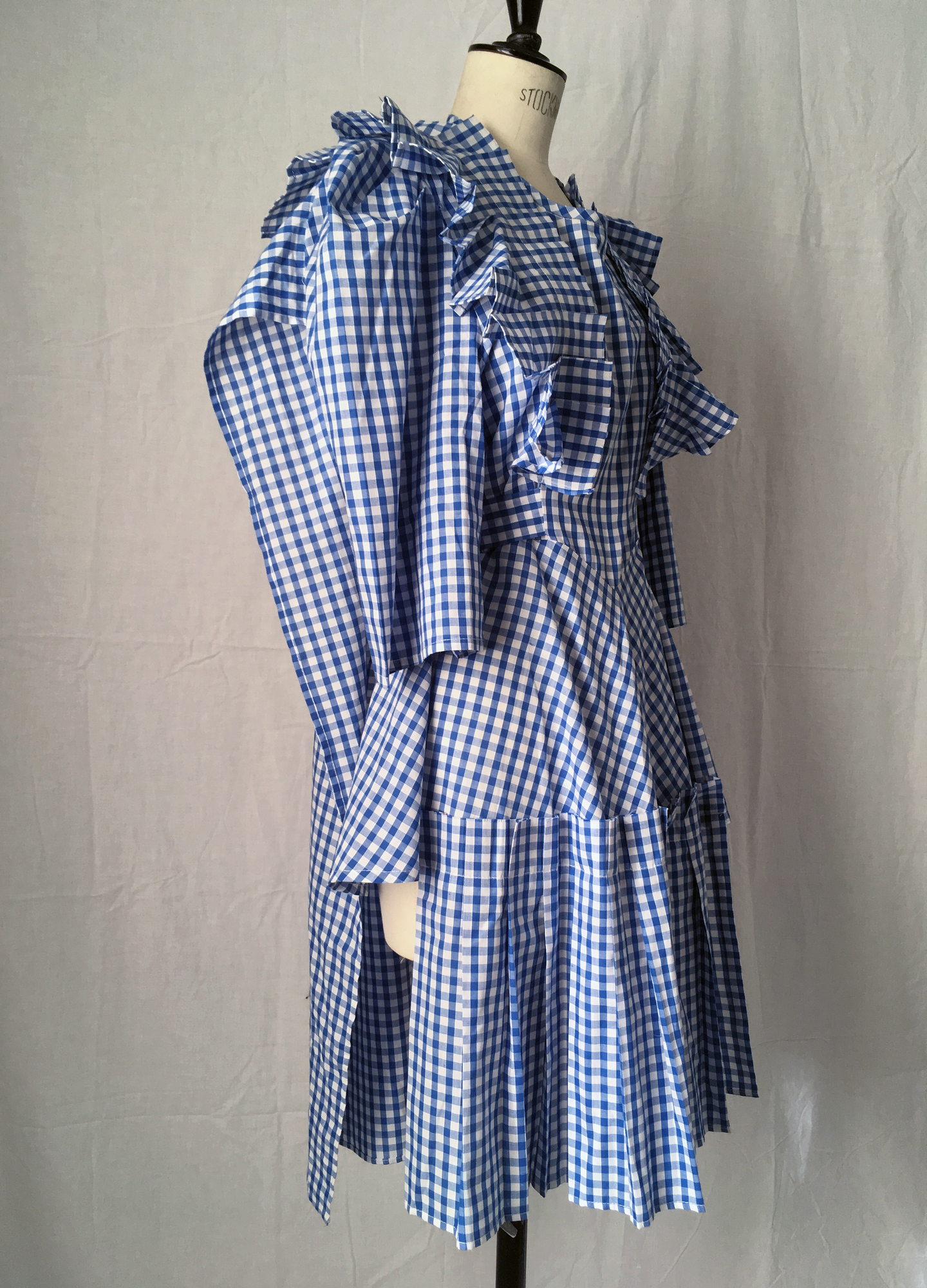 DRESS LTD Adaptable Flat Pack HALF APRON DOROTHY Deconstructed Prairie Dress #dressltd