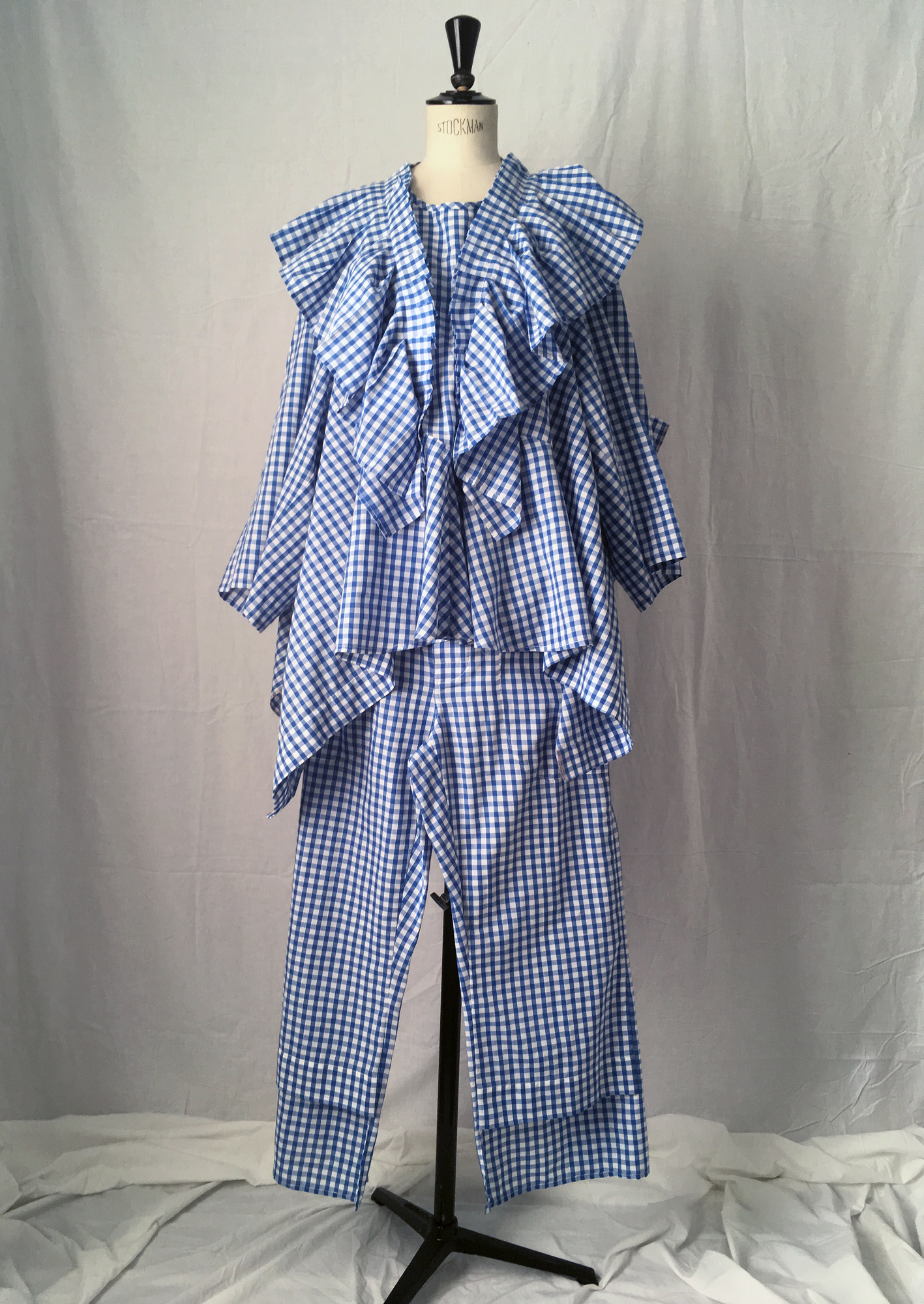 DRESS LTD Dorothy's Pyjamas Set 2: FLAT PACK HALF DRESS & FLAT PACK PYJAMA Trousers - #dressltd
