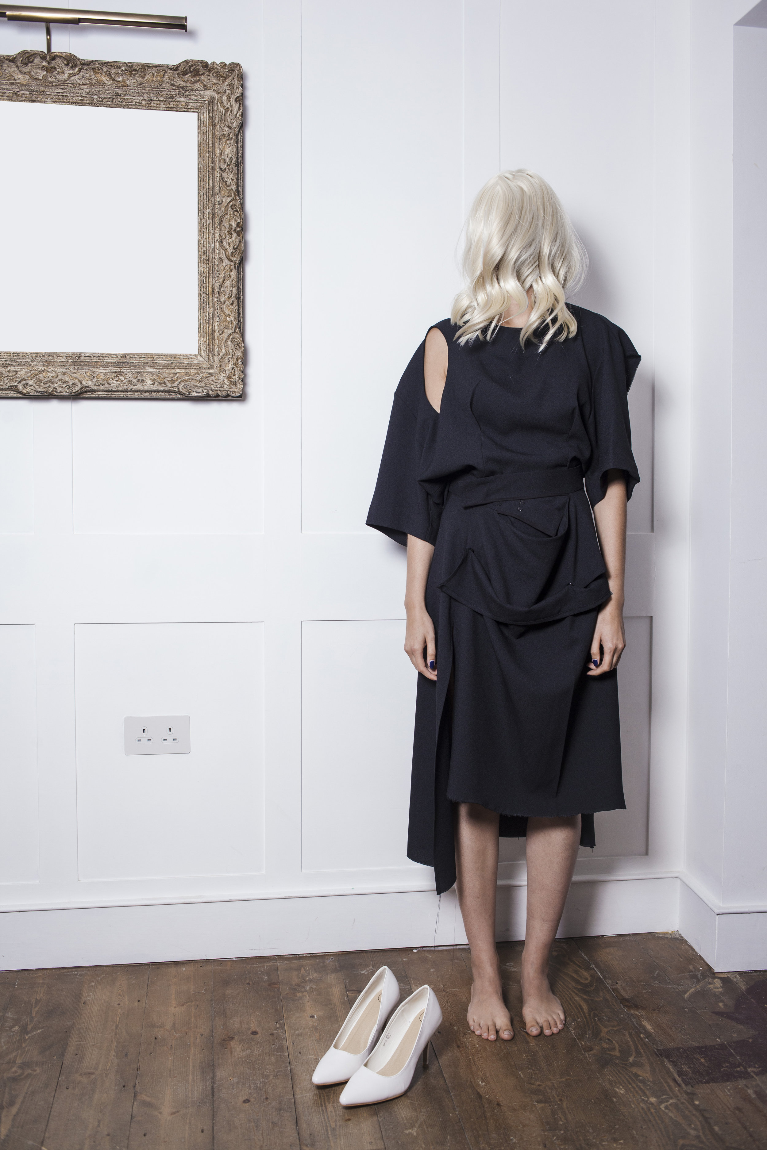 Asymmetric/ MULTIPLE CHOICE TOP  & Adaptable  SKIRT IN PARTS