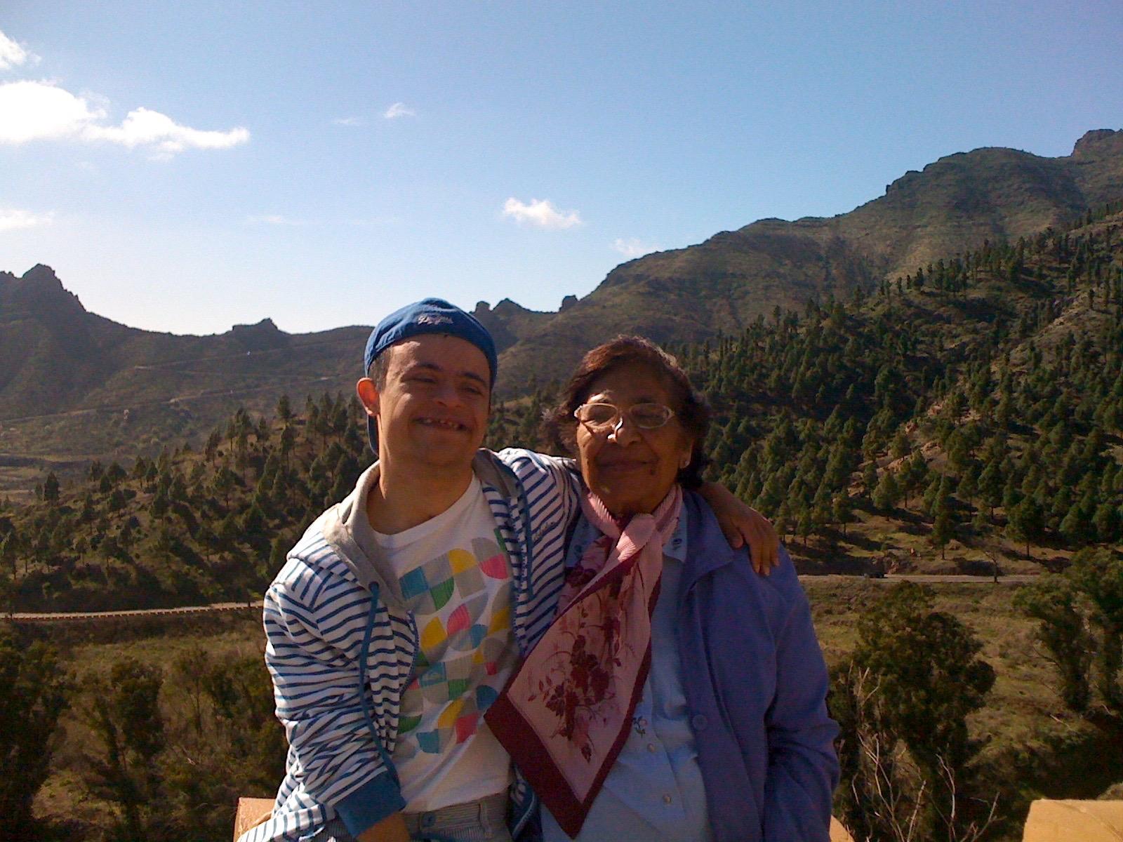 My Grandma Rosie & Christopher