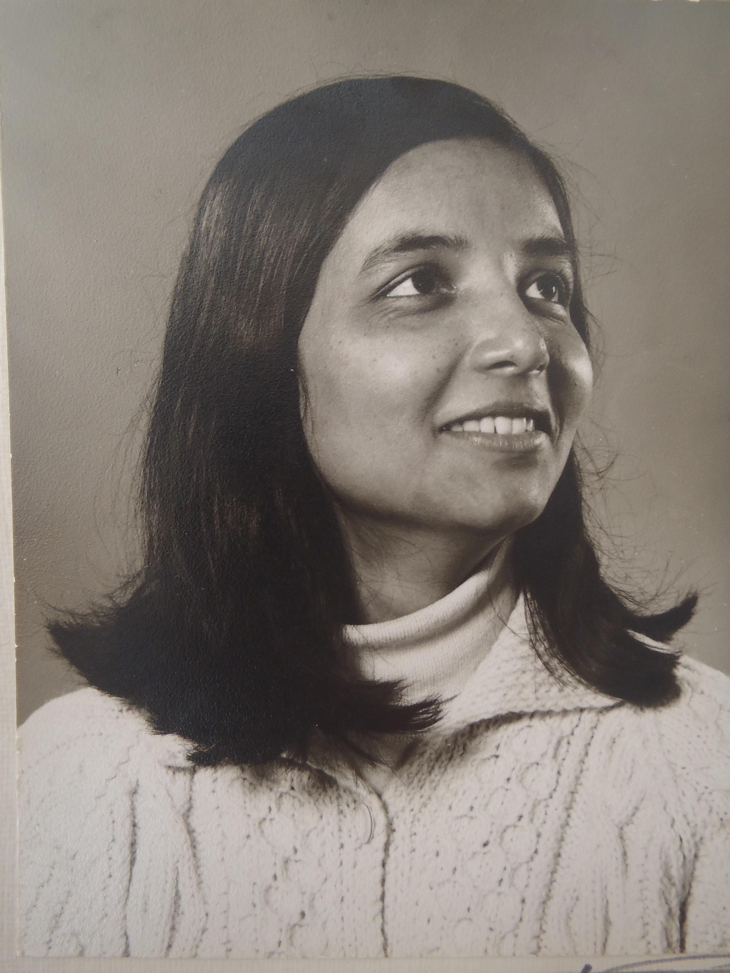 My mother, Regina Raphael
