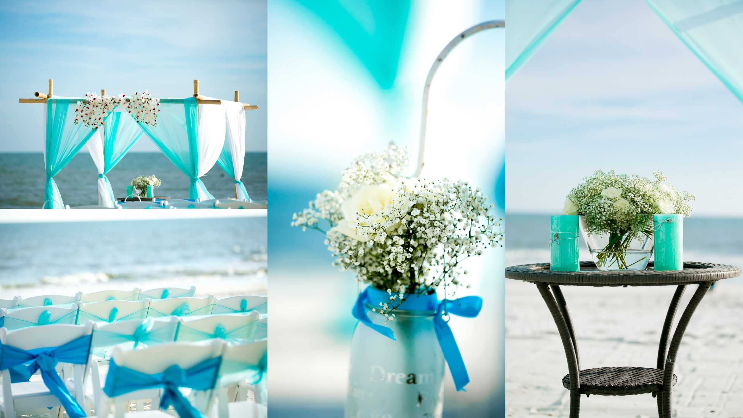 gulf shores beach weddings and reception\