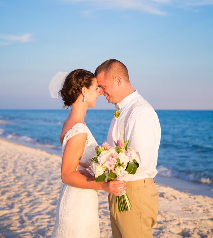 beach wedding al