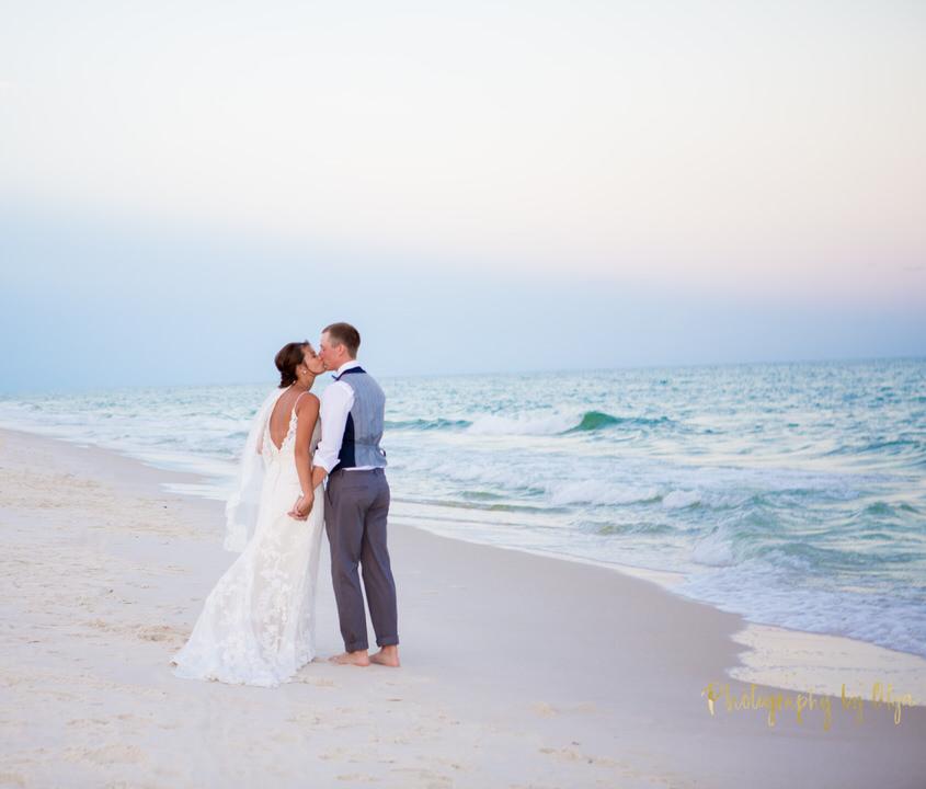 Beach weddings location