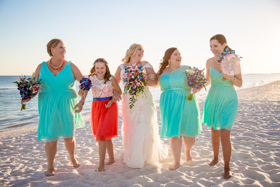 Orange Beach beach wedding planner