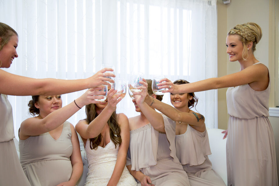 Cheers party bridal