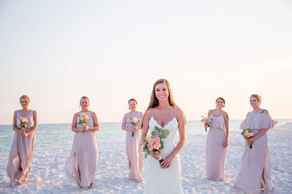 Bridal party Gulf