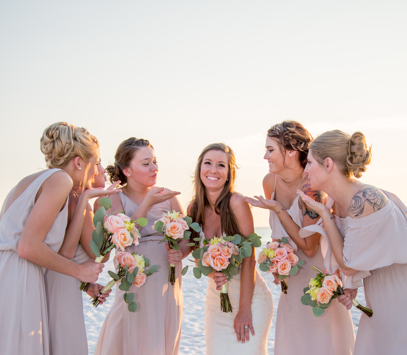 Photography bridal party