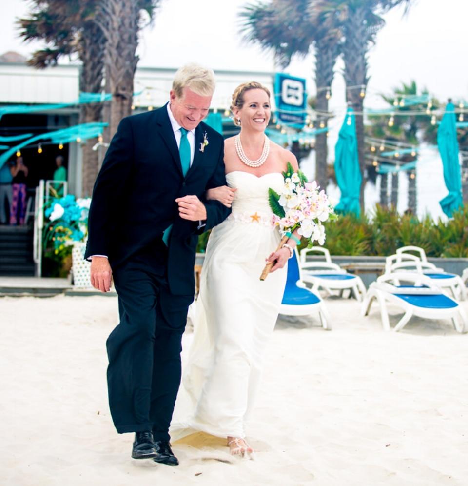 father wedding