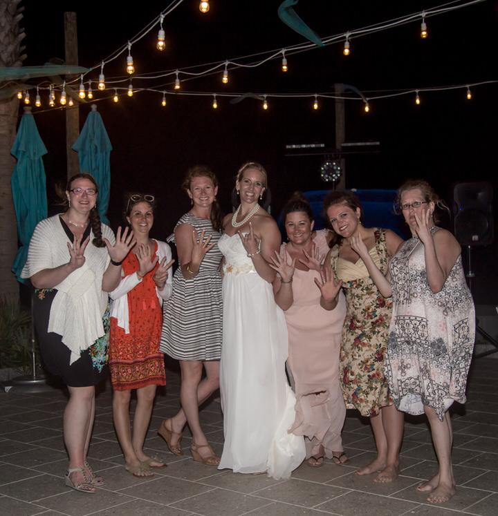bridal friends