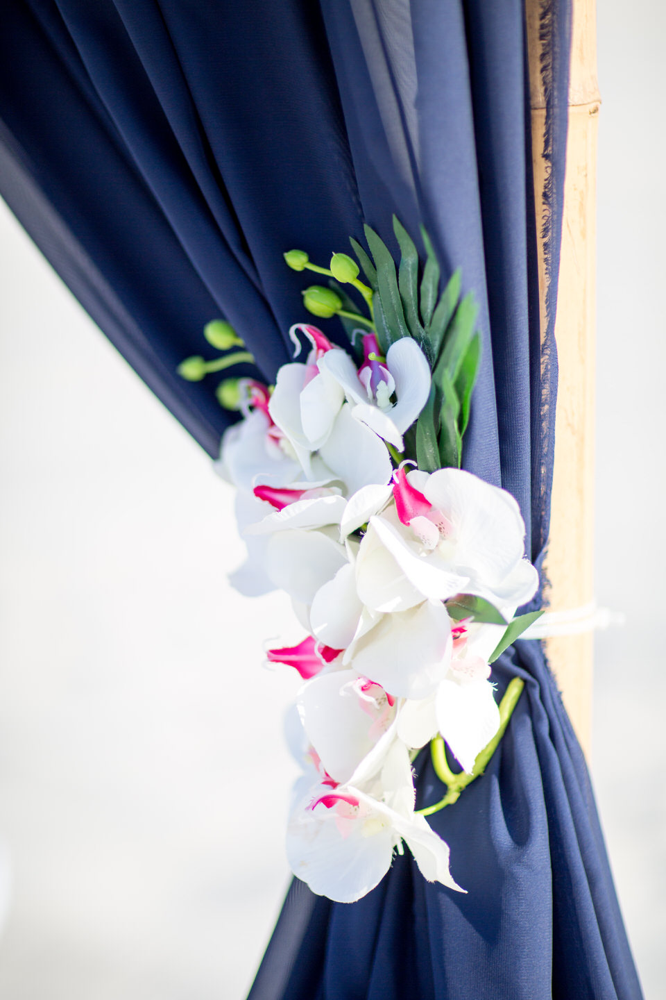 Colorful Wedding Curtain Style