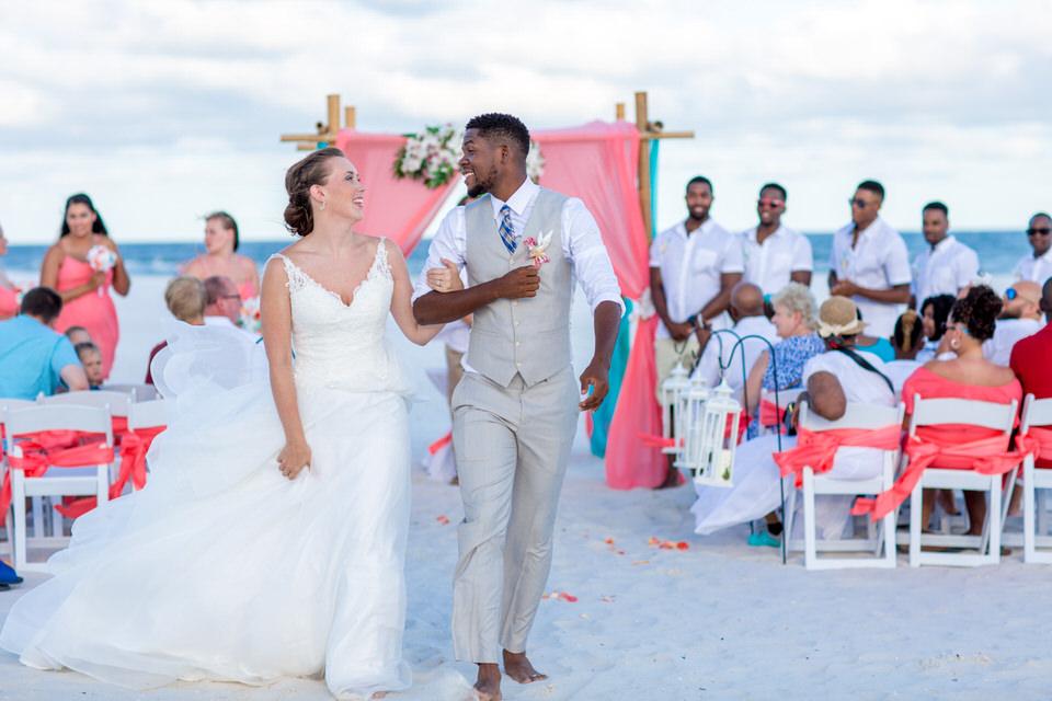 wedding beach ocean