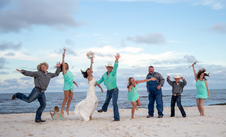 paradise beach weddings