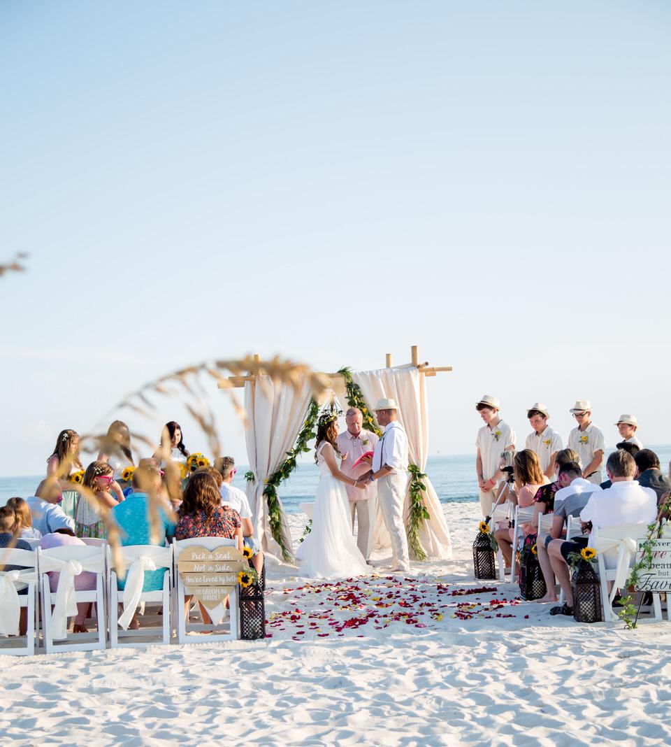 wedding dunes