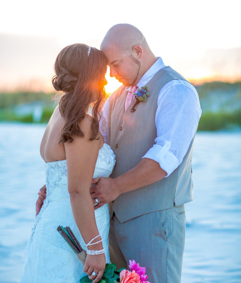 perdido key beach wedding