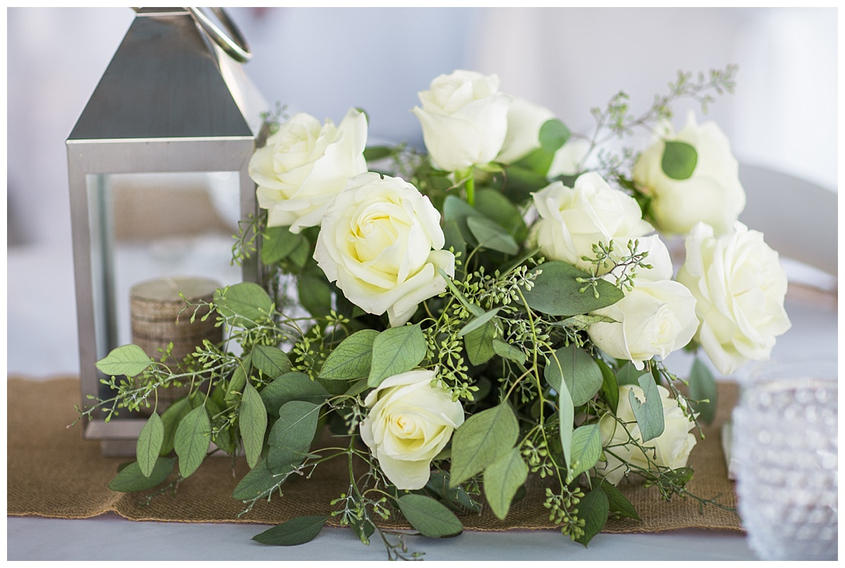 Get the elegant, classic look adding lots of greenery to your centerpieces, flowers bouquets and arbor.