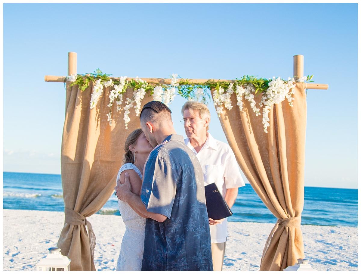 First Kiss In Pensacola beach