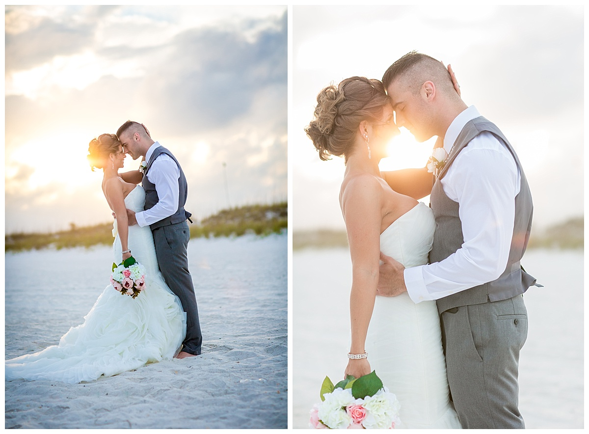 Sunset Wedding in Pensacola