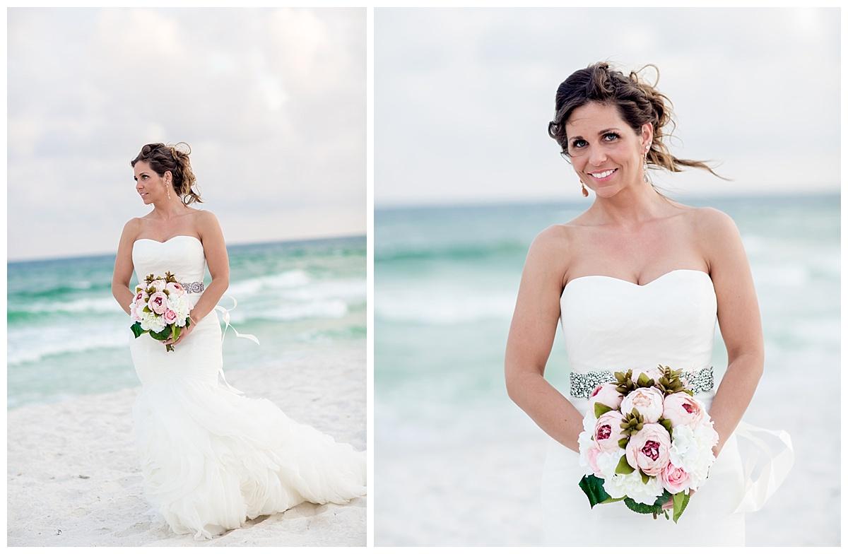 Bride In Pensacola Beach