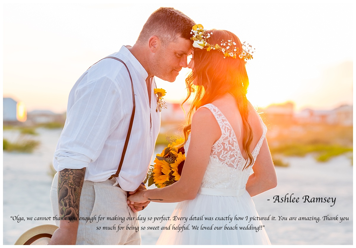 perfect beach weddings