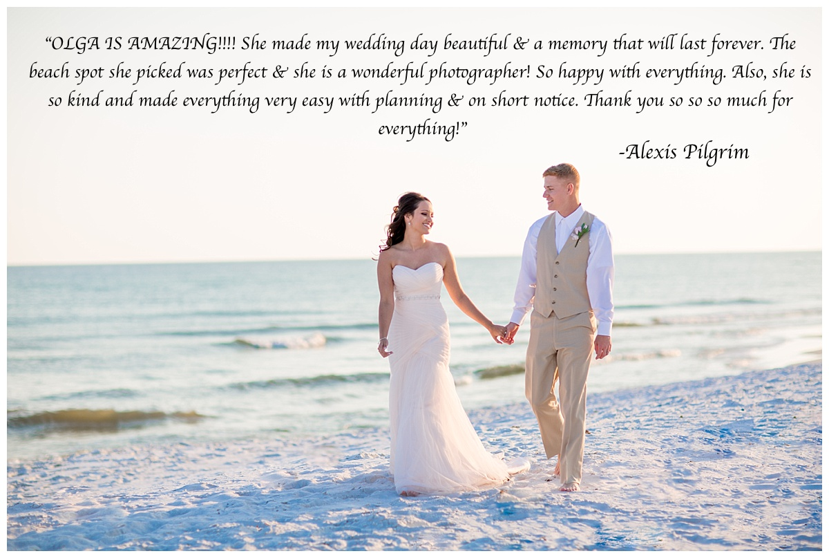 stress free weddings in Florida