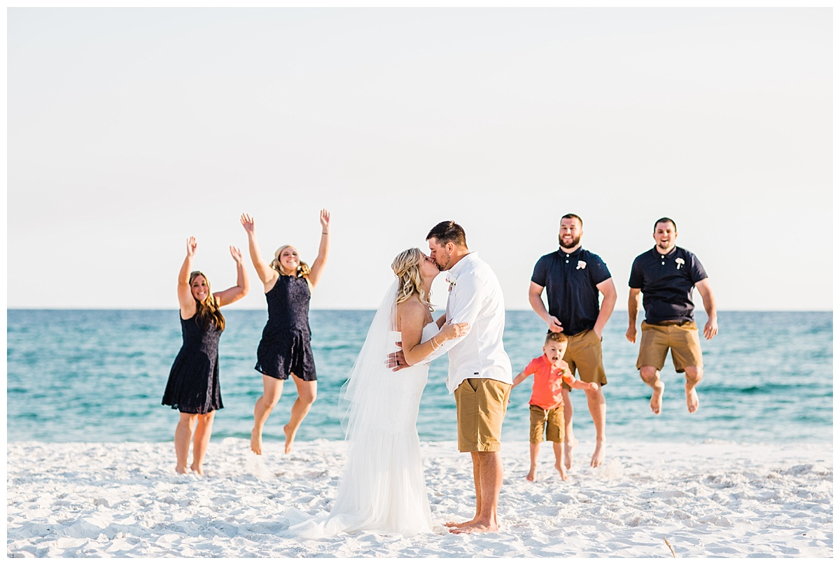 Bridal Party Jump Funny Pictures