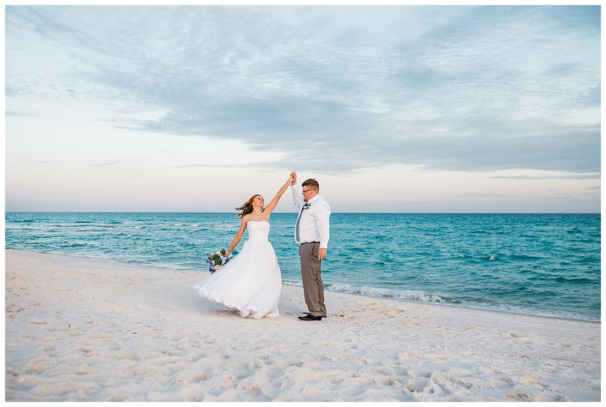 Small Wedding for two in Pensacola Beach